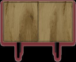 Caruso - Cabinet vintage