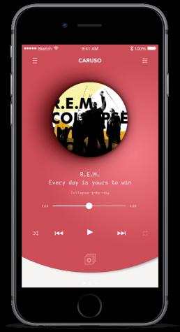 Caruso - Design App iOS