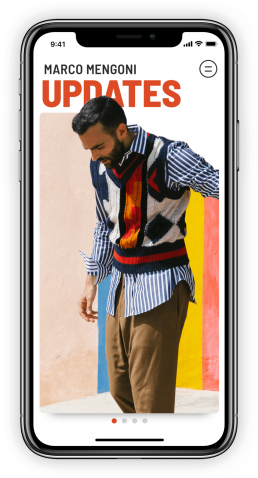 App Marco Mengoni by Rawfish updates cover